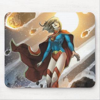 Los nuevos 52 - Supergirl #1 Tapetes De Raton