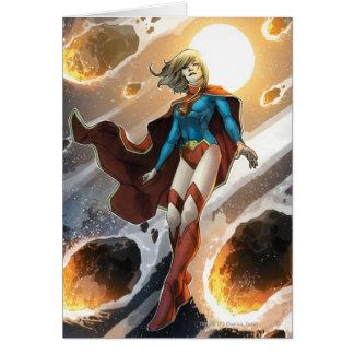 Los nuevos 52 - Supergirl #1 Tarjeta De Felicitación