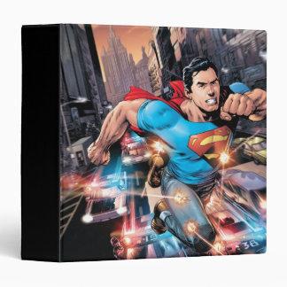 """Los nuevos 52 - superhombre #1 2 carpeta 1 1/2"""""""
