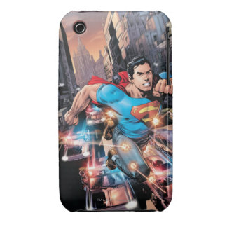 Los nuevos 52 - superhombre #1 2 Case-Mate iPhone 3 protector
