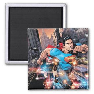 Los nuevos 52 - superhombre #1 2 imán cuadrado
