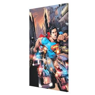 Los nuevos 52 - superhombre #1 2 lienzo envuelto para galerías
