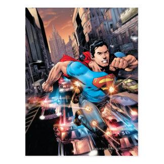Los nuevos 52 - superhombre #1 2 postales