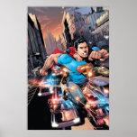 Los nuevos 52 - superhombre #1 2 póster