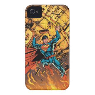 Los nuevos 52 - superhombre #1 Case-Mate iPhone 4 carcasa
