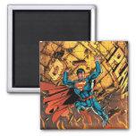 Los nuevos 52 - superhombre #1 imán cuadrado