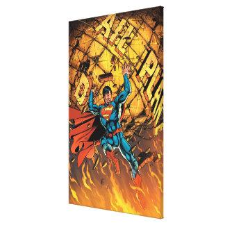 Los nuevos 52 - superhombre #1 impresiones en lona estiradas
