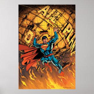 Los nuevos 52 - superhombre #1 póster