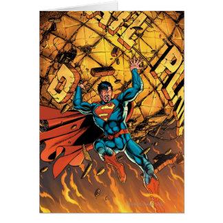 Los nuevos 52 - superhombre #1 tarjeta de felicitación