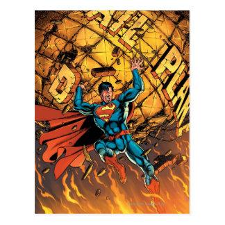 Los nuevos 52 - superhombre #1 tarjetas postales