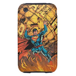 Los nuevos 52 - superhombre #1 tough iPhone 3 carcasas