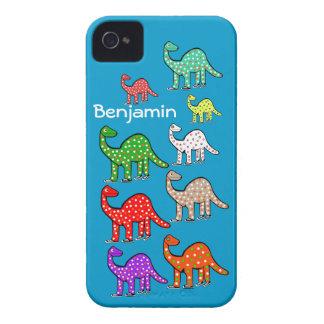 Los nuevos niños personalizaron la caja azul del i iPhone 4 cobertura