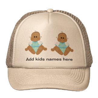 Los nuevos regalos afroamericanos del bebé y invit gorras
