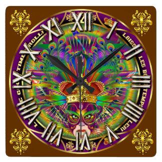 Los números del carnaval King-4 satisfacen ven not Reloj De Pared