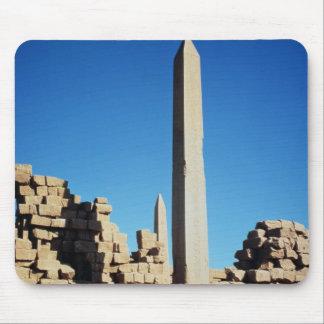 Los obeliscos de Tuthmosis I y de Hatshepsut Tapete De Ratones