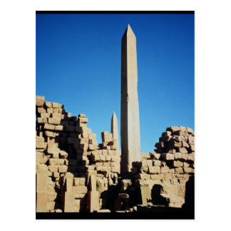 Los obeliscos de Tuthmosis I y de Hatshepsut Tarjetas Postales