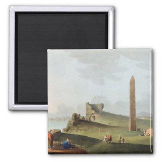 Los obeliscos en Alexandría, llamada Cleopatra Nee Imán Cuadrado