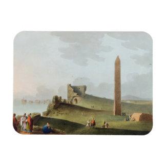 Los obeliscos en Alexandría, llamada Cleopatra Nee Imán Foto Rectangular