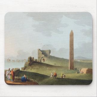 Los obeliscos en Alexandría, llamada Cleopatra Nee Tapete De Ratones