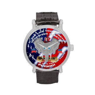 Los objetos de recuerdo republicanos este diseño relojes