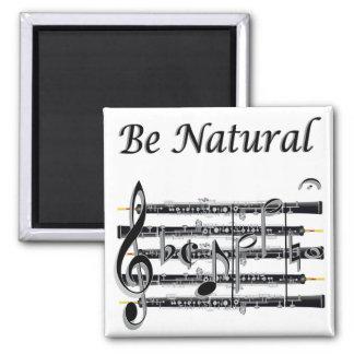 Los oboes saben a B natural Iman De Nevera