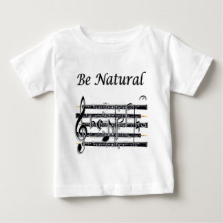 Los oboes saben a B natural Playera De Bebé