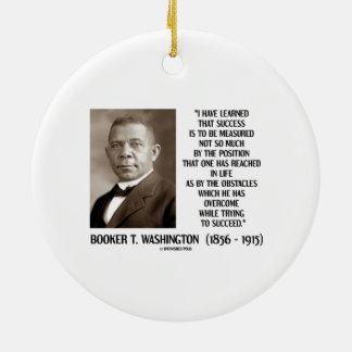 Los obstáculos del Booker T. Washington superados  Ornamento Para Arbol De Navidad