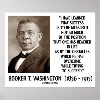 Los obstáculos del Booker T. Washington superados  Impresiones