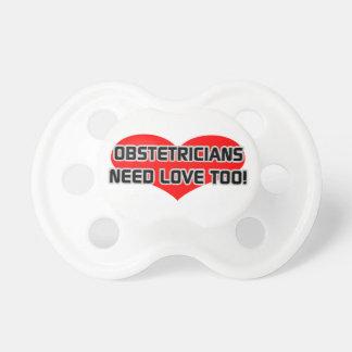 Los obstétricos necesitan amor también chupete