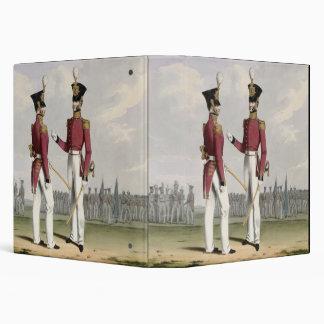 """Los oficiales de campo de los infantes de marina carpeta 1 1/2"""""""
