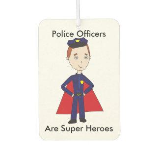 Los oficiales de policía son superhéroes (el