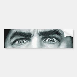 Los ojos de Bela Pegatina De Parachoque