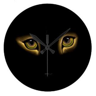 Los OJOS de CAT REGISTRAN, horloge de la charla Reloj Redondo Grande