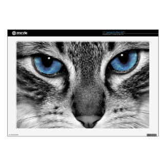 Los ojos de gato portátil calcomanía