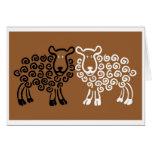 Los ojos de la oveja tarjetón