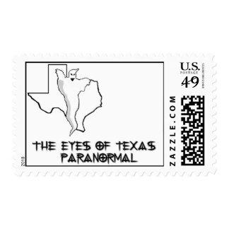 Los ojos del sello paranormal de Tejas