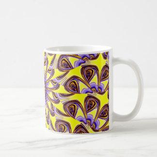 los ojos están mirando la frecuencia intermedia tazas de café