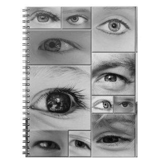 Los ojos lo tienen spiral notebooks