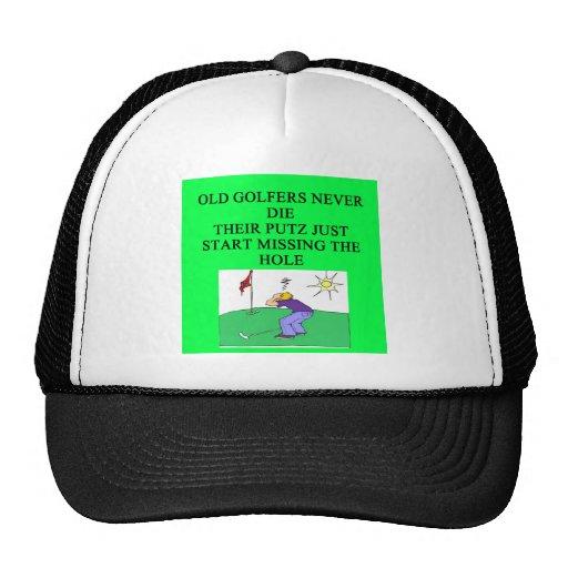 los oldgolfers nunca mueren gorras