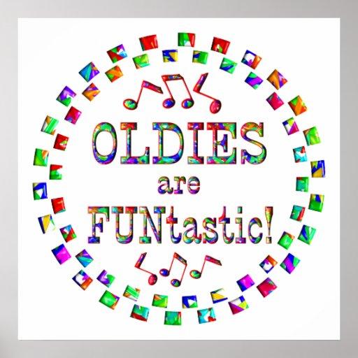 Los Oldies son Funtastic Póster