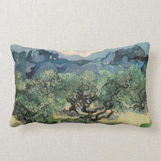 Los olivos, 1889, por Vincent van Gogh Cojín