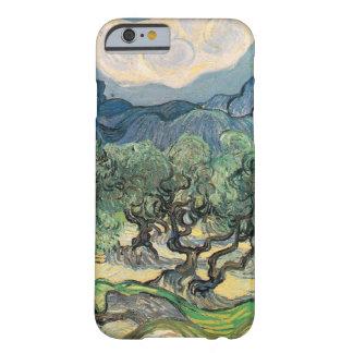 Los olivos, 1889, por Vincent van Gogh Funda De iPhone 6 Barely There