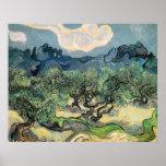 los olivos, 1889, Vincent van Gogh Impresiones