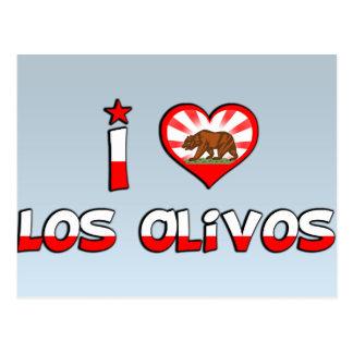 Los Olivos, CA Postcard