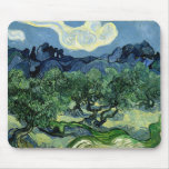 Los olivos de Vincent van Gogh (1889) Alfombrilla De Ratones