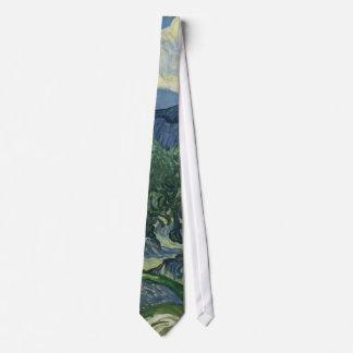 Los olivos de Vincent van Gogh Corbatas Personalizadas