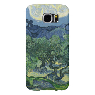 Los olivos por la bella arte de Van Gogh Fundas Samsung Galaxy S6