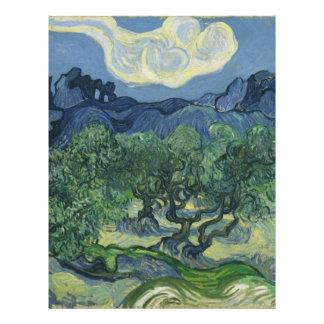 Los olivos - Van Gogh Flyer Personalizado
