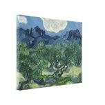 Los olivos - Van Gogh Impresión De Lienzo