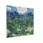 Los olivos - Van Gogh Impresiones En Lienzo Estiradas